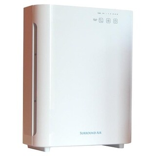 SurroundAir 5 in 1 Ionic Air Purifier with True HEPA, Germ