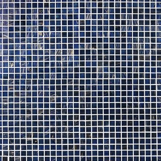 "Delacora DT-BRILLIANTBLUE11 Brilliant Blue - 1"" X 1"" - Glass Visual - Wall Tile (10 SF/Carton)"