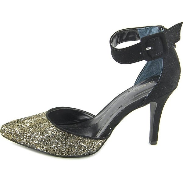 Style & Co. Womens GALAXY2 Pointed Toe Ankle Strap D-orsay Pumps