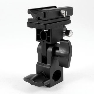 B Type Flash Light Hotshoe Umbrella Mount Holder Bracket for Canon Nikon Camera