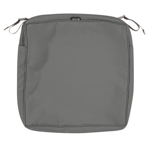 Classic Accessories Montlake Water-Resistant Patio Seat Cushion Slip Cover