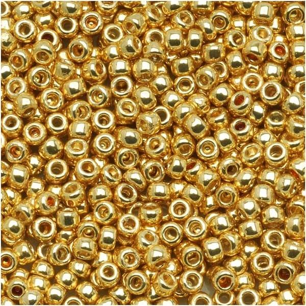 Toho Round Seed Beads 8/0 PF557 'Galvanized Starlight' 8g