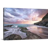 Premium Thick-Wrap Canvas entitled Cove at southern end of 'Kisami-Ohama'