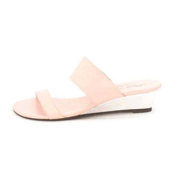 Athena Alexander Womens SPENDIT Open Toe Casual Slide Sandals