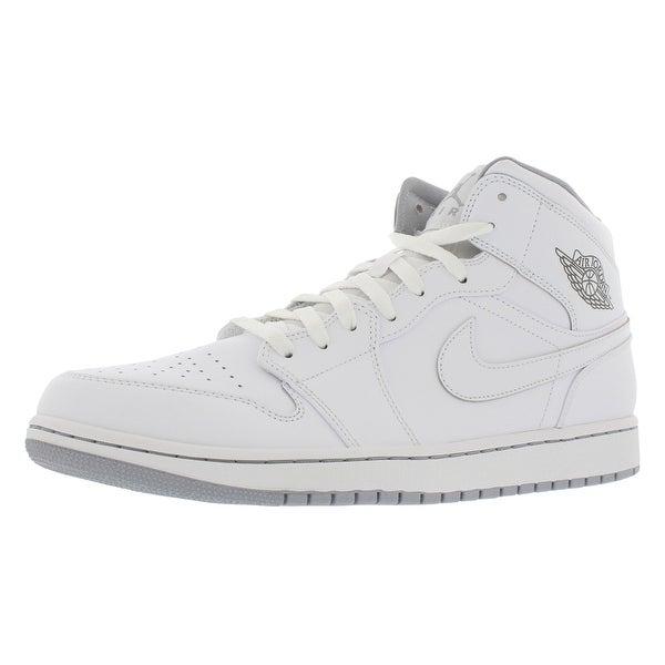 Jordan Air Jordan 1 Mid Basketball Men's Shoes - 13 d(m) us