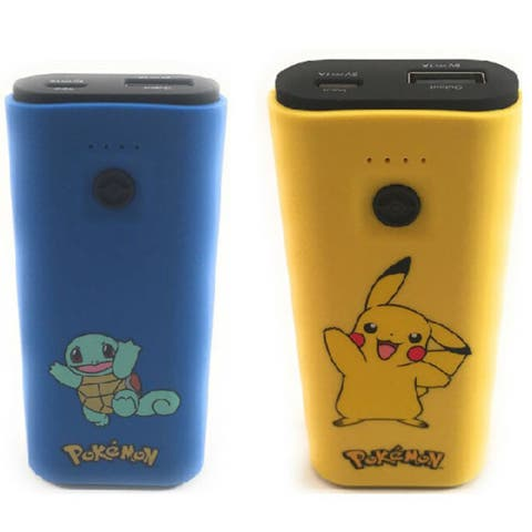 Battery Charger Pokemon for Smartphone Tablet MP3 Bluetooth Gaming Devices