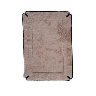 "K&H Pet Products Memory Foam Dog Crate Pad Mocha 37"" x 54"" x 0.5"""
