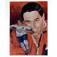 Signed Beliveau Jean Montreal Canadiens 8x10 Photo autographed