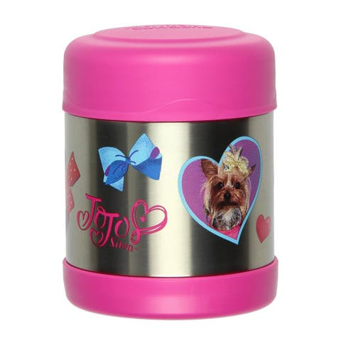 Thermos FUNtainer JoJo Siwa Food Jar, Pink, 10 Ounces - N/A