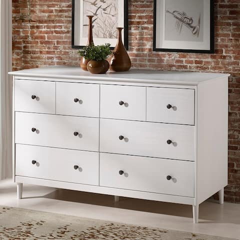 Taylor & Olive Bullrushes 6-drawer Solid Wood Dresser
