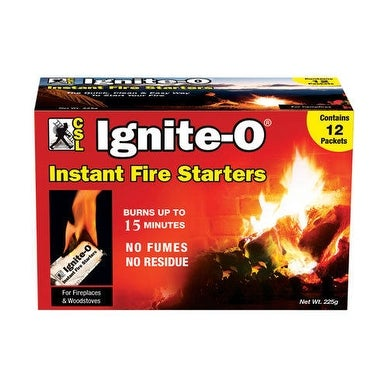 Ignite-O FS855-24 Instant Fire Starter, 12 Ct