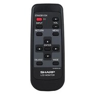 OEM Sharp Remote Control Originally Shipped With: LC-M3700, LC-M3700P, LCM3700, LCM3700P