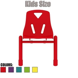 "2xhome - Kids Size Plastic Side Chair 12"" Seat Height Teal Childs Chair Childrens Room Chairs Armless Metal Legs"