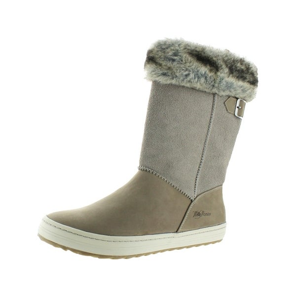 Helly Hansen Womens Alexandra 2 Winter Boots Suede Faux Fur Lining