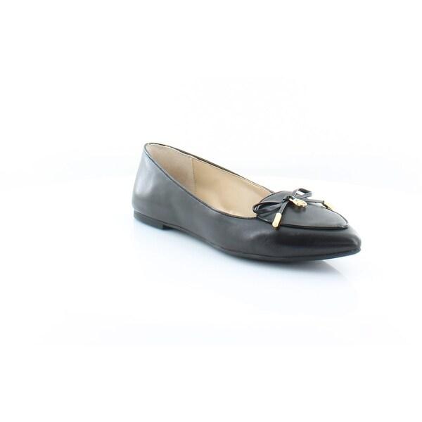 009ce8d6d647d Shop MICHAEL Michael Kors Daisy Moc Women's FLATS Black - Free ...