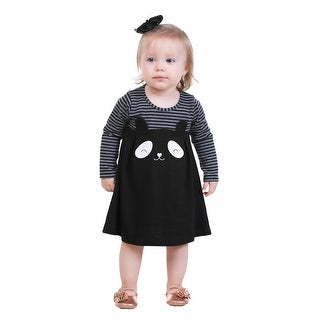 Pulla Bulla Baby Girls' Striped Panda Dress (3 options available)