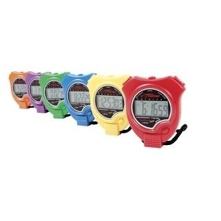 Sportime Timetracker Basic Stopwatches, Set of 6