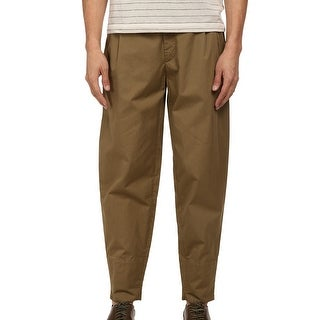 McQ NEW Beige Mens Size 50 US 40X29 Dart Trousers Chinos Pants