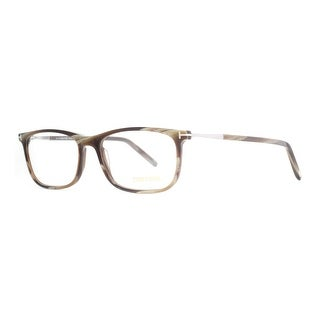 Tom Ford TF 5398 061 55mm Brown Horn/Silver Eyeglasses - brown horn - 55mm-16mm-145mm