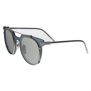 Dolce & Gabbana DG2196 04/6G Black Round Sunglasses - no size