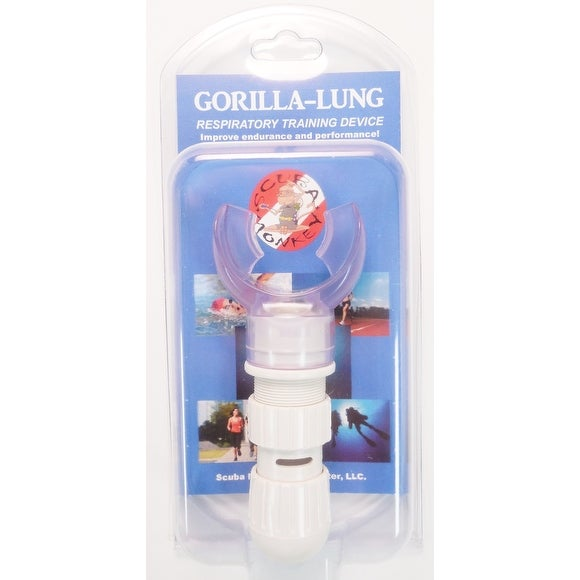 Gorilla-Lung Breathing Trainer Mouthpiece