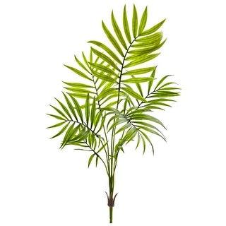 Nearly Natural Mini Areca Palm Artificial Bush, Set of 6