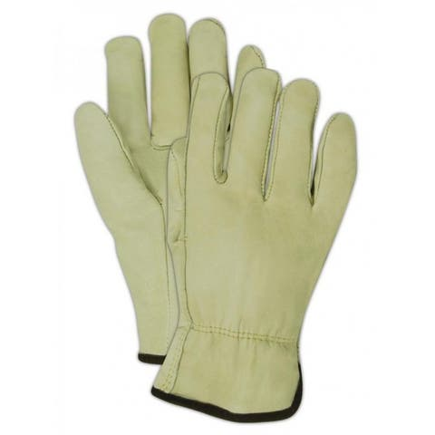 HandMaster B6540ETM ProGrade Premium Grain Cowhide Leather Driver Glove, Medium
