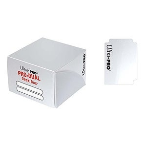 Ultra PRO Dual Deck Box, White, Standard