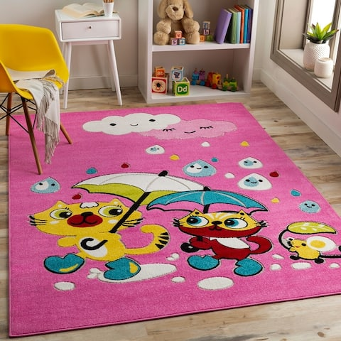 Buy Pink Animal Area Rugs Online At Overstock Our Best Rugs Deals