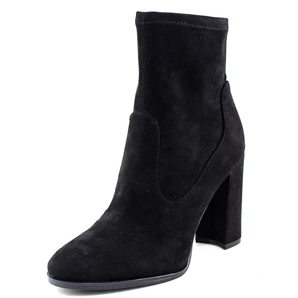 Marc Fisher Jones Round Toe Suede Ankle Boot