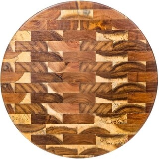 Palais Dinnerware End Grain Cutting Board - Wooden Butcher Block