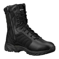 "Smith & Wesson Men's Breach 2.0 8"" Side Zip Boot Black Leather/Nylon"