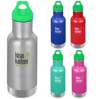 Klean Kanteen Kid Classic 12 oz. Insulated Bottle with Loop Cap - 12 oz.