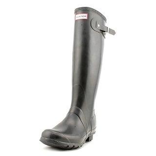 Hunter Original Tall Round Toe Synthetic Rain Boot