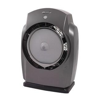Soleus MT1-19-32 HumidiBreeze Portable Misting Fan - Dark Gray