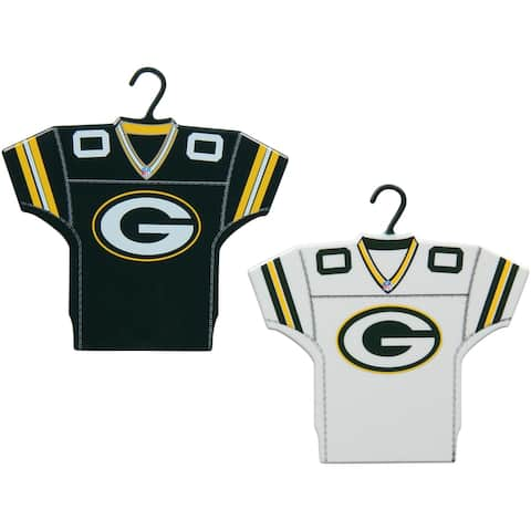 Green Bay Packers Jersey Ornament Set, 2-Pack