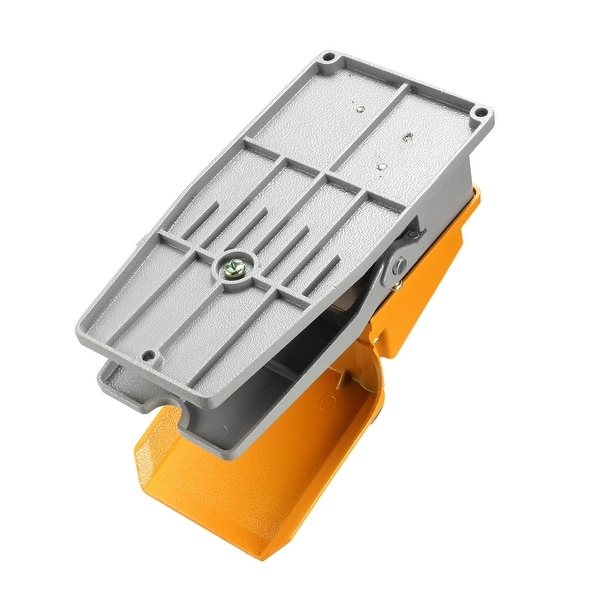 Foot Switch SPDT Momentary Foot Pedal with Foot Gaurd 15A