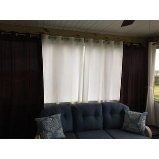 Grommet Top Indoor / Outdoor Curtain Panel