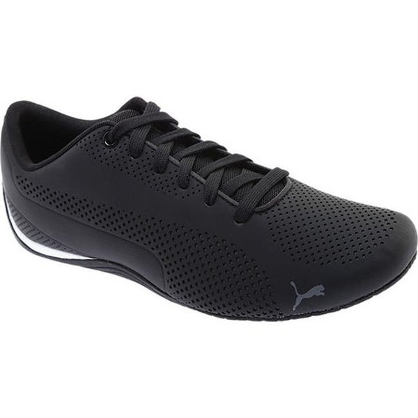 Shop PUMA Men s Drift Cat 5 Ultra Sneaker Puma Black Quiet Shade ... 6bb18dd90