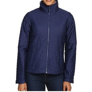 Marmot NEW Blue Womens Size Large L Quilted Full-Zip Reversible Jacket