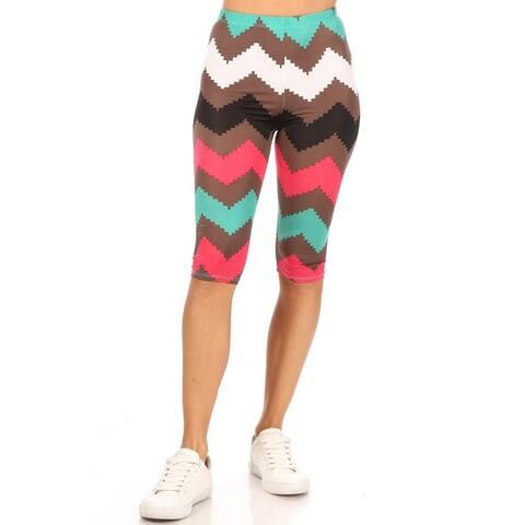 Women's Casual Workout Comfy Bermuda Bottom Pants Shorts