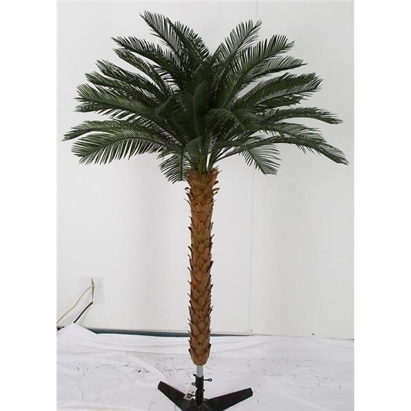 Autograph Foliages A-174660 50 in. Cycas Palm Cluster by 4 Green