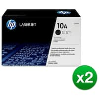 HP 10A Black Original LaserJet Toner Cartridge (Q2610A)(2-Pack)