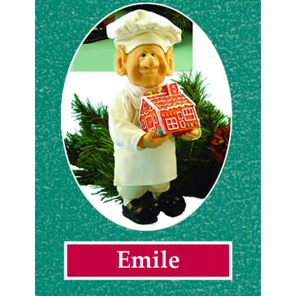 "12"" Zims The Elves Themselves Emile Collectible Christmas Elf Figure"