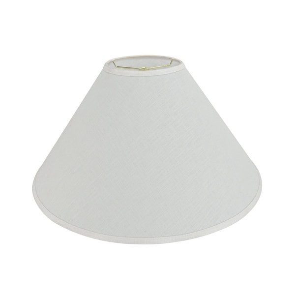 Aspen Creative Hardback Empire Shaped Spider Construction Lamp Shade In Off White 7 X 23 X 14 Overstock 31670856