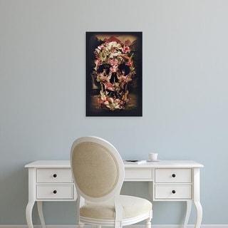 Easy Art Prints Ali Gulec's 'Jungle Skull' Premium Canvas Art
