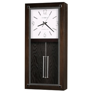 Link to Howard Miller Reese Modern, Transitional, Bold, and Chic,  Gallery Chiming Wall Clock with Pendulum, Reloj De Pared Similar Items in Decorative Accessories
