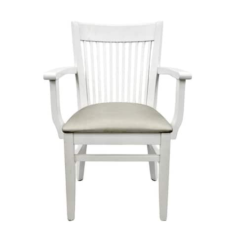 Metro Solid Wood Arm Chair