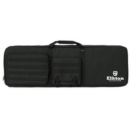 Elkton Outdoors Gun Shooting Bag With Built In Shooting Mat and Backpack Straps