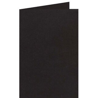 Kraft Black - Papicolor A6 Folded Cards 6/Pkg